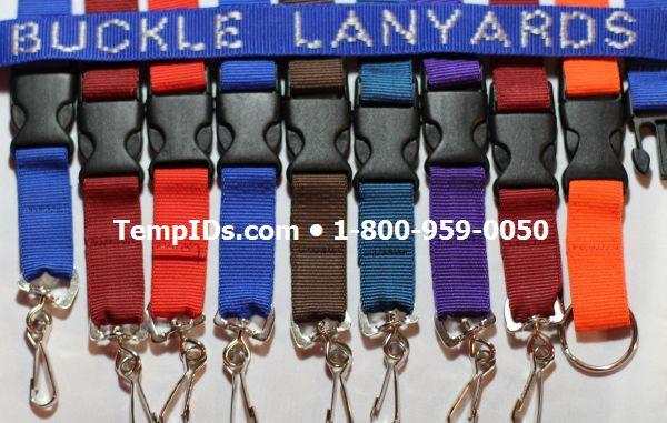 Detachable Buckle Lanyards