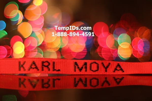Lanyards Personalized Teacher Name School Name Christmas Bokeh