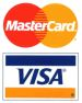 Visa Mastercard logos